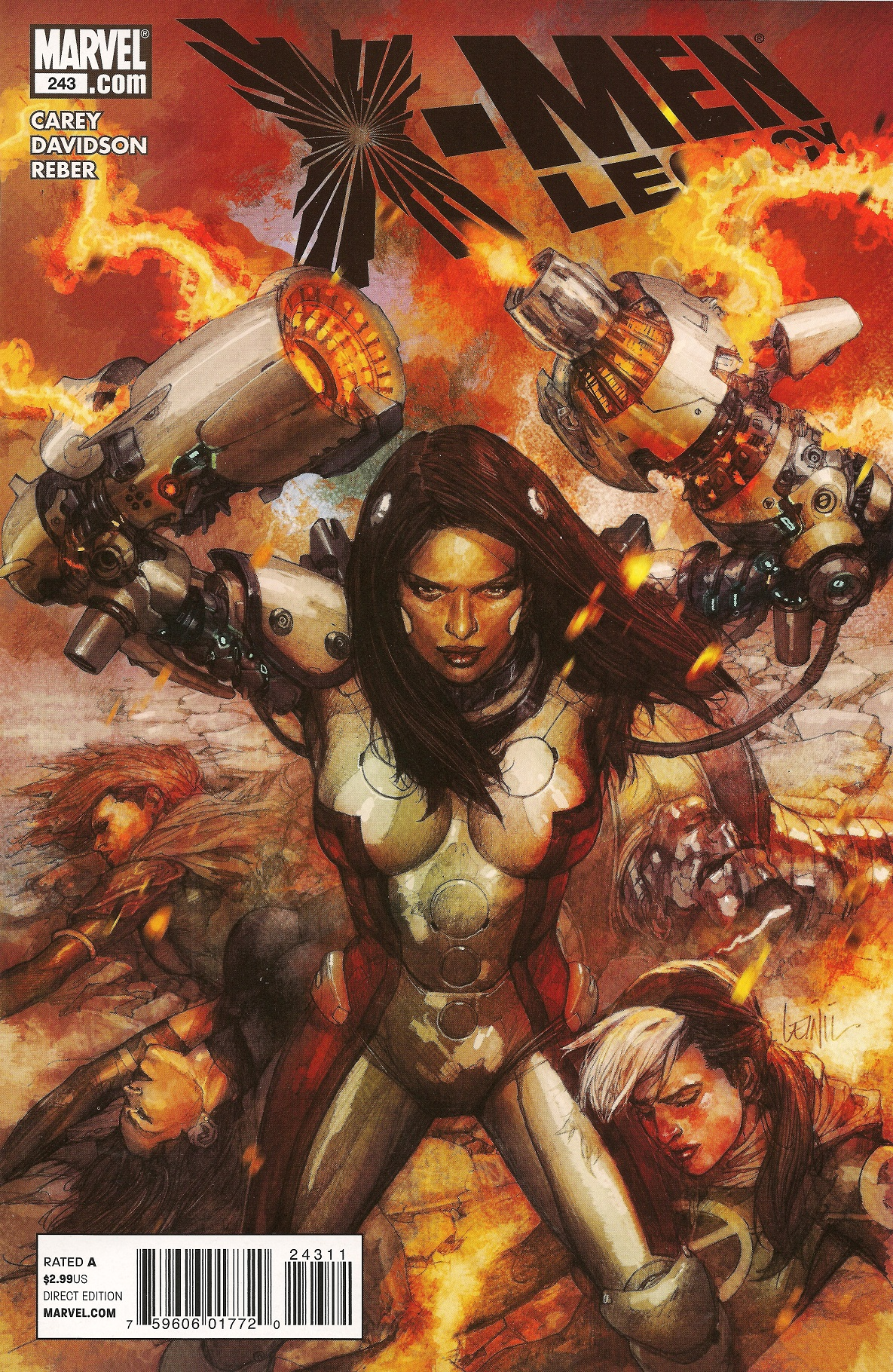 X-Men: Legacy Vol 1 243