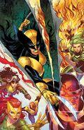 X-Men Vol 6 1 Unknown Comic Books Exclusive Kirkham Virgin Variant