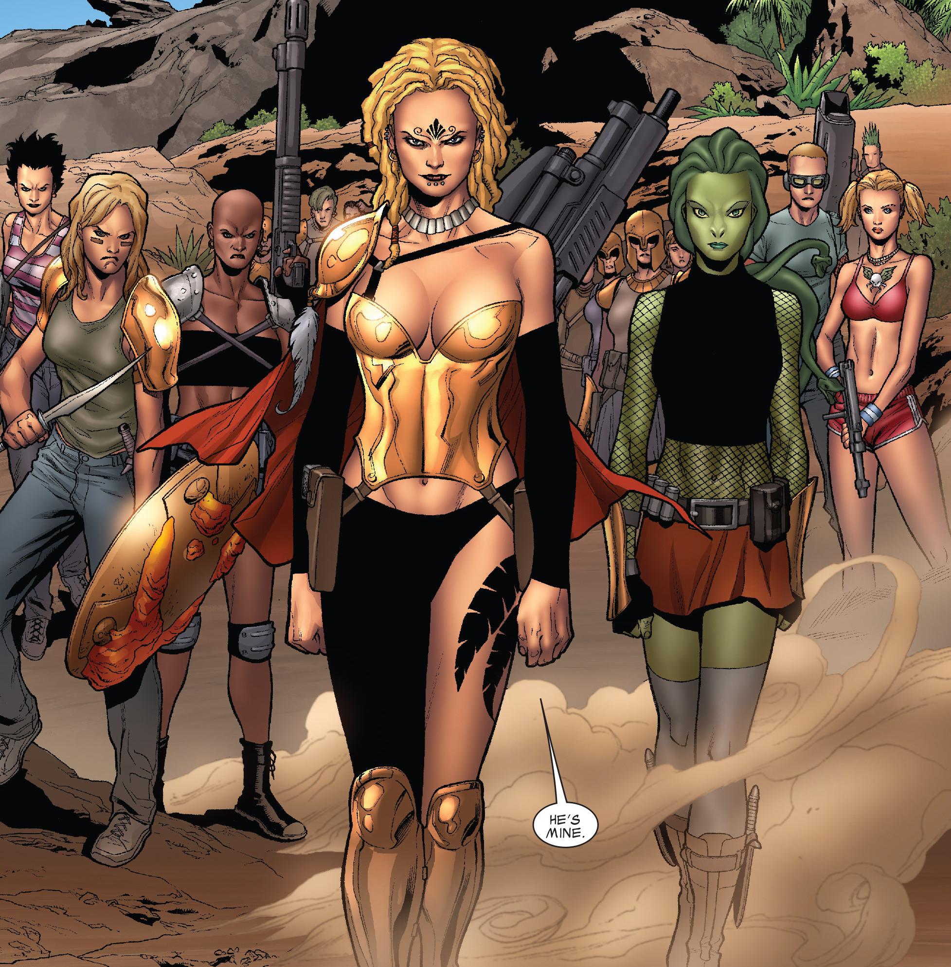 Amazons (Earth-616)