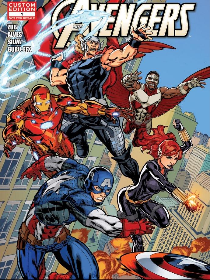 Avengers: Child Life Vol 1 1