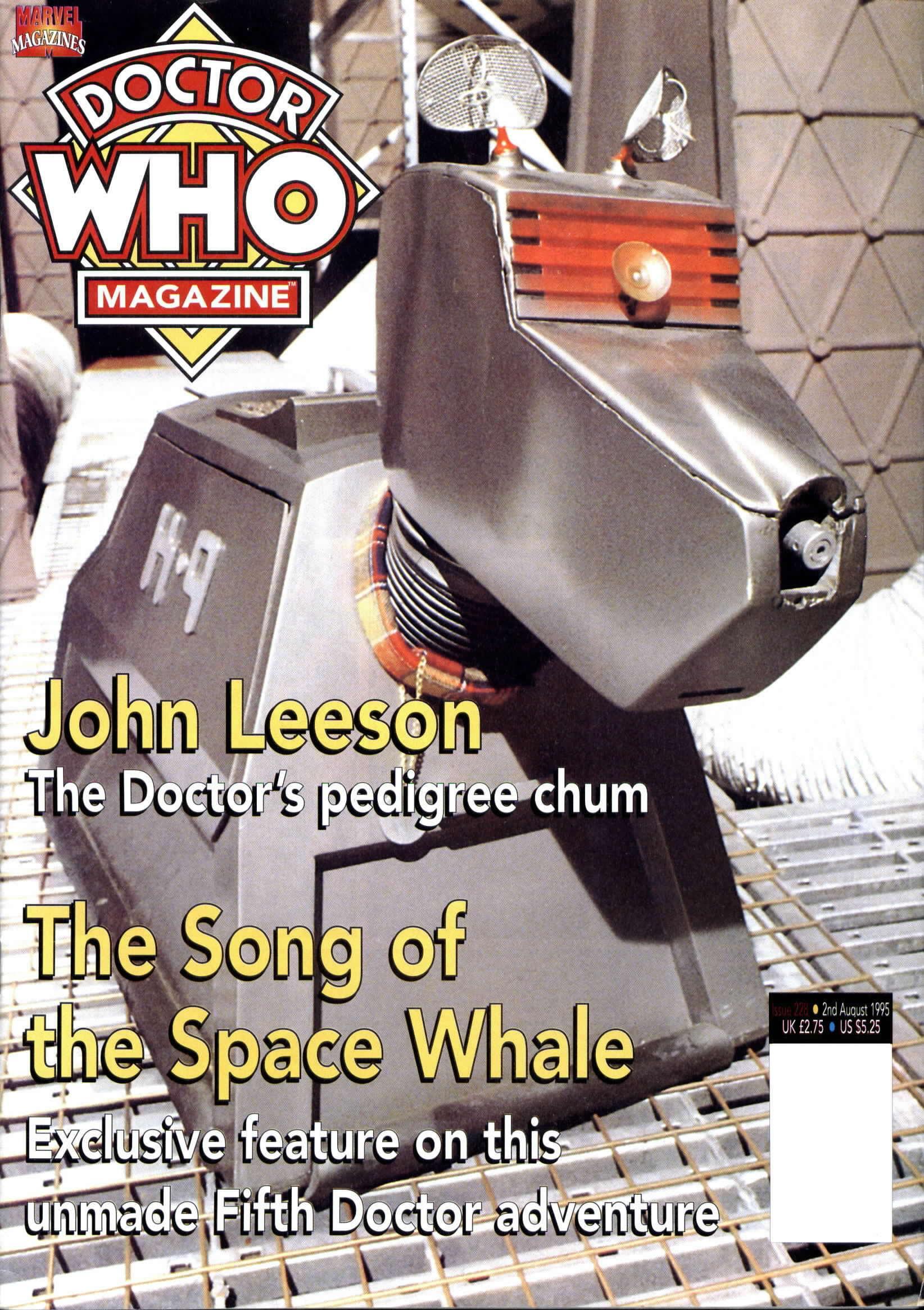 Doctor Who Magazine Vol 1 228