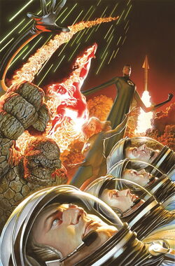 Fantastic Four Vol 5 1 Marvel Comics 75th Anniversary Variant Textless.jpg