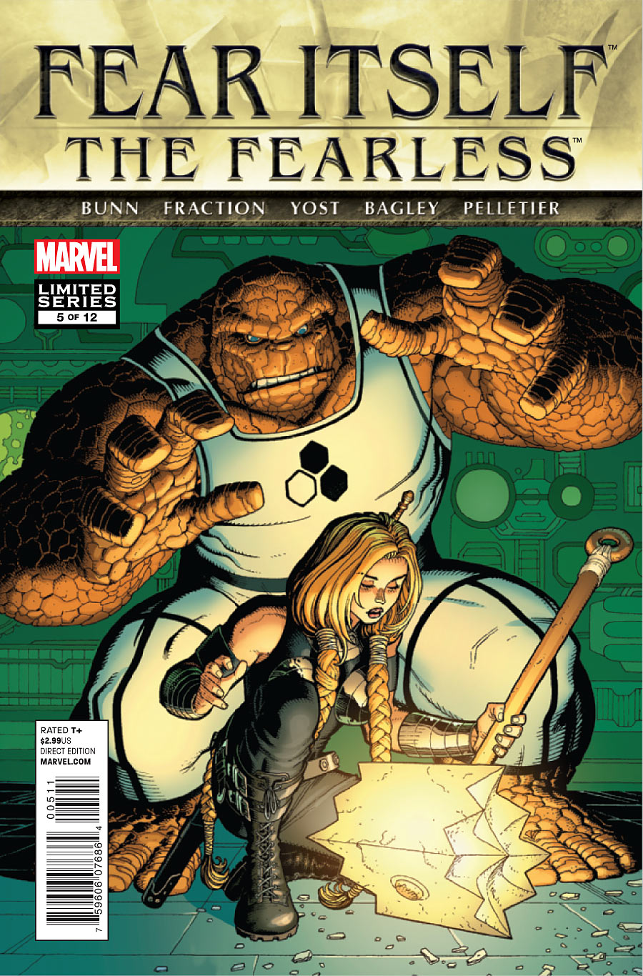 Fear Itself: The Fearless Vol 1 5