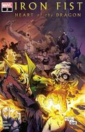 Iron Fist Heart of the Dragon Vol 1 2