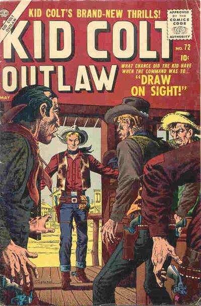 Kid Colt Outlaw Vol 1 72