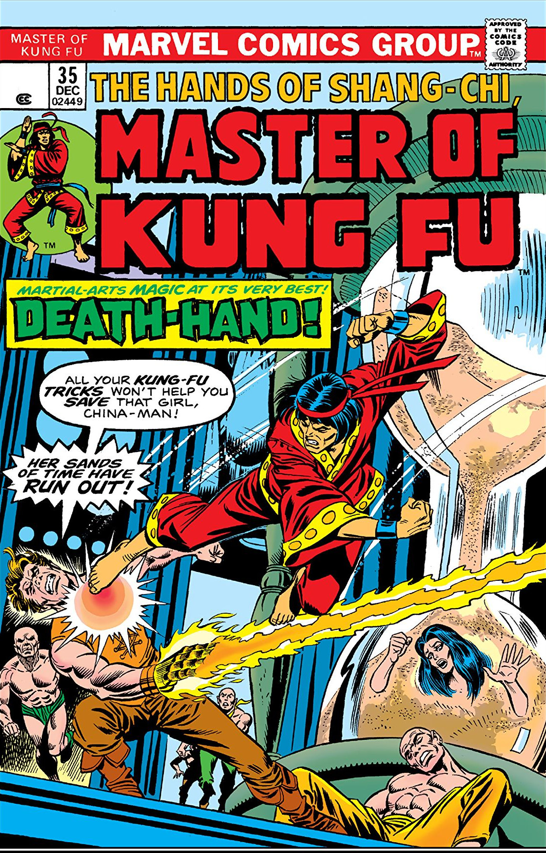Master of Kung Fu Vol 1 35