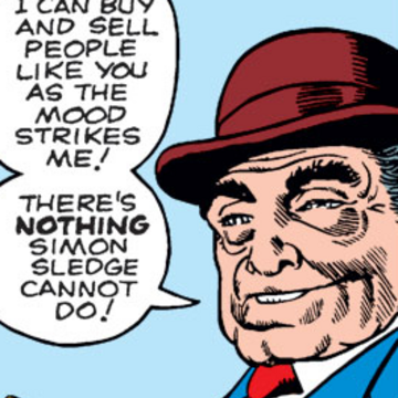 Simon Sledge (Earth-616) from Amazing Adventures Vol 1 4 001.png