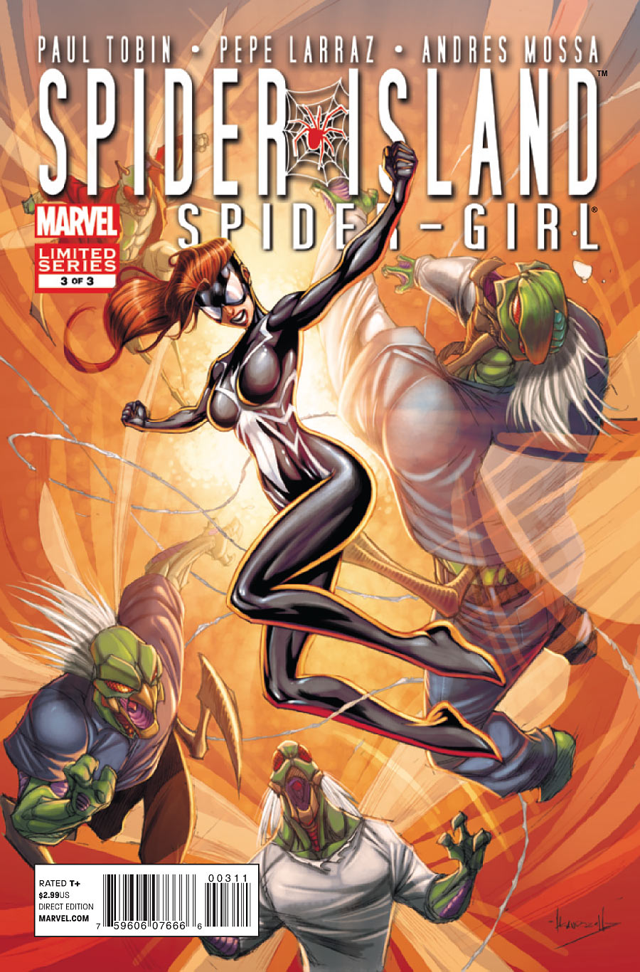 Spider-Island: The Amazing Spider-Girl Vol 1 3