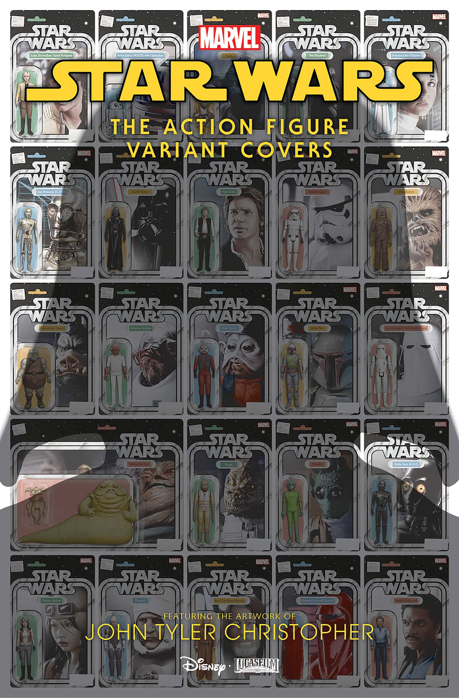 Star Wars: The Action Figure Variant Covers Vol 1 1