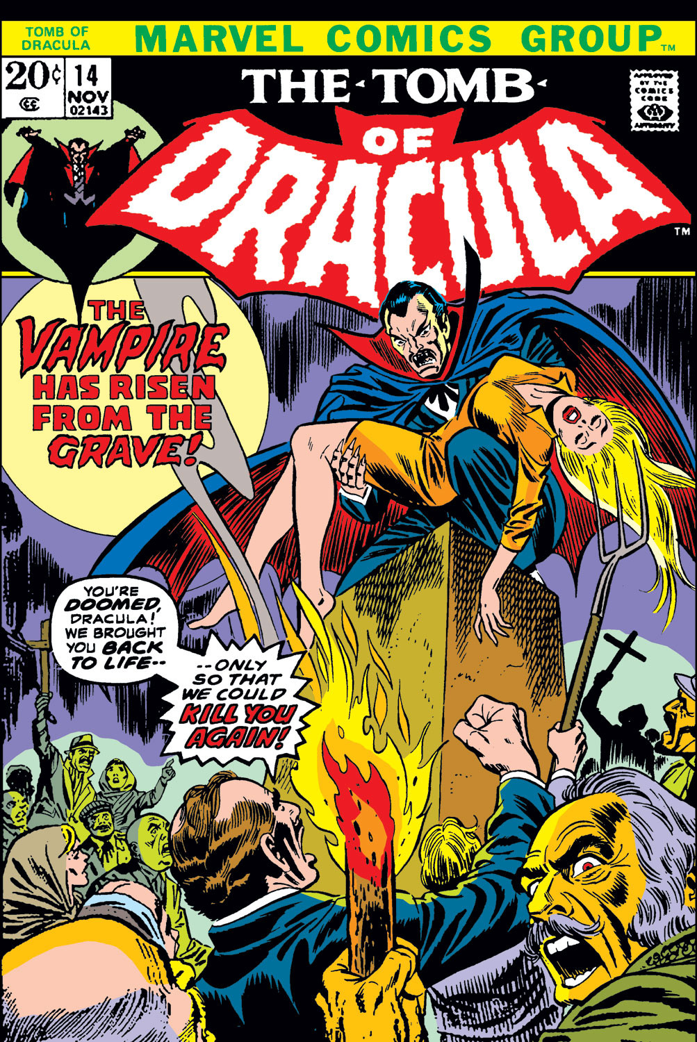 Tomb of Dracula Vol 1 14