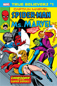 True Believers Captain Marvel - Spider-Man and Ms. Marvel Vol 1 1