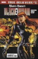 True Believers Marvel Knights 20th Anniversary - Black Widow by Grayson & Jones Vol 1 1