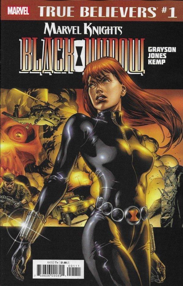 True Believers: Marvel Knights 20th Anniversary - Black Widow by Grayson & Jones Vol 1 1