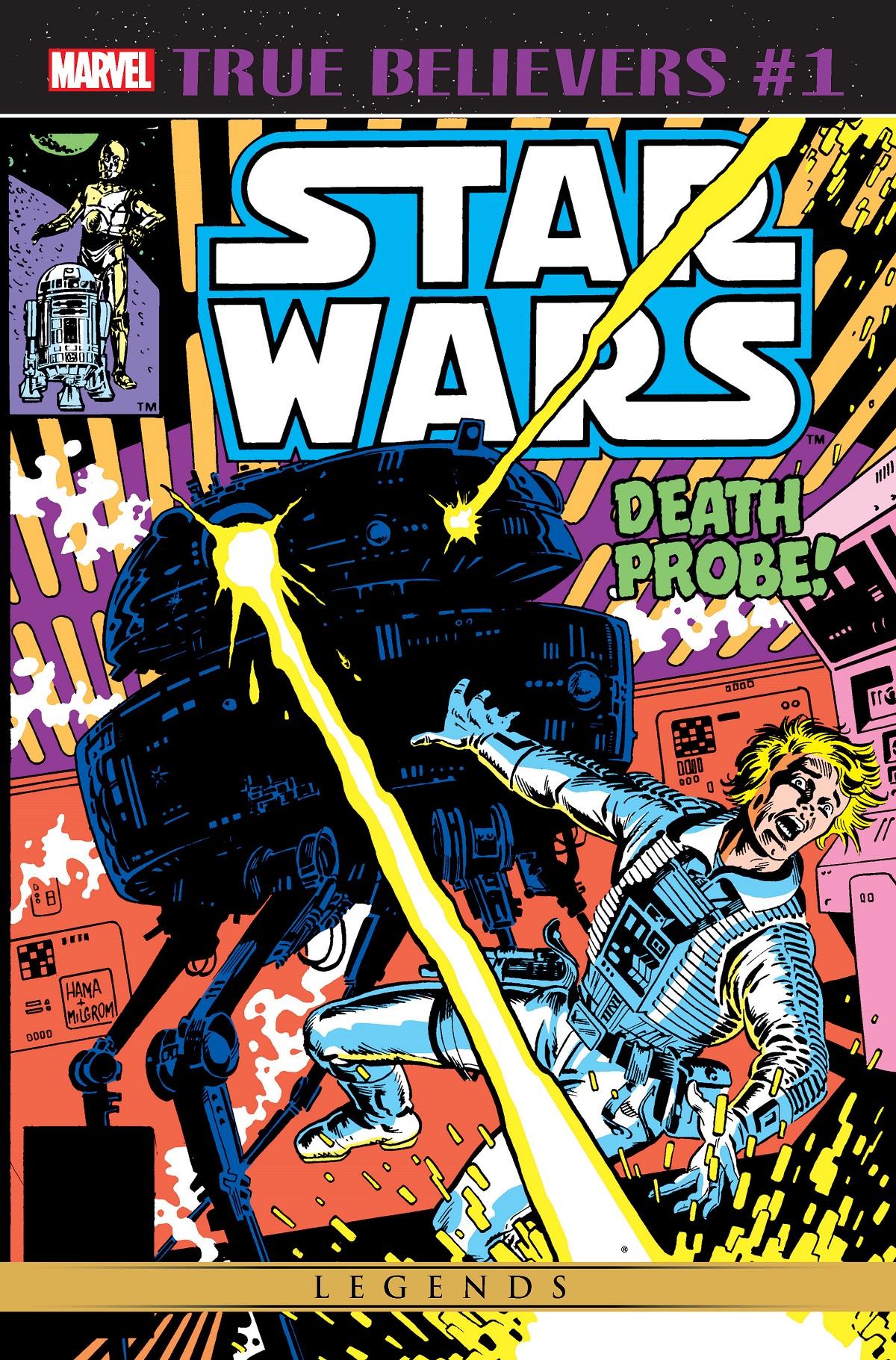 True Believers: Star Wars - Death Probe Vol 1 1