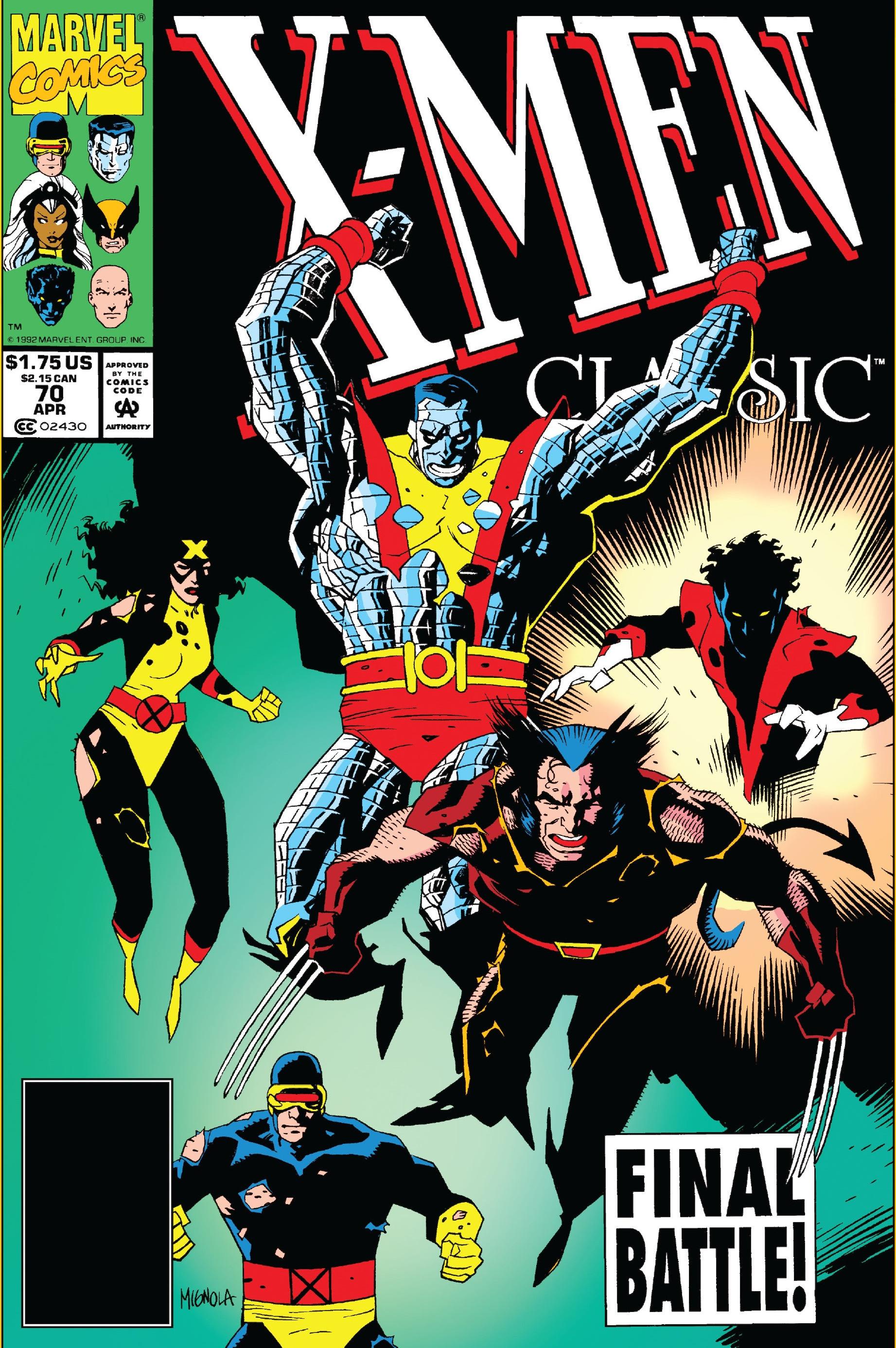 X-Men Classic Vol 1 70