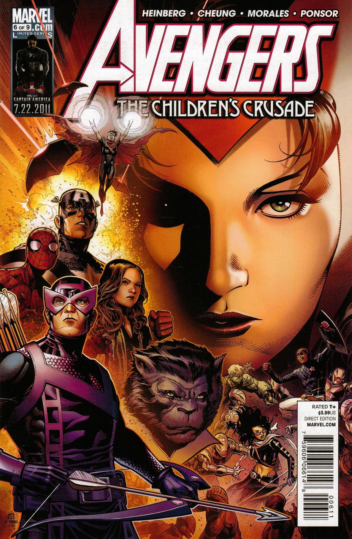 Avengers: The Children's Crusade Vol 1 6