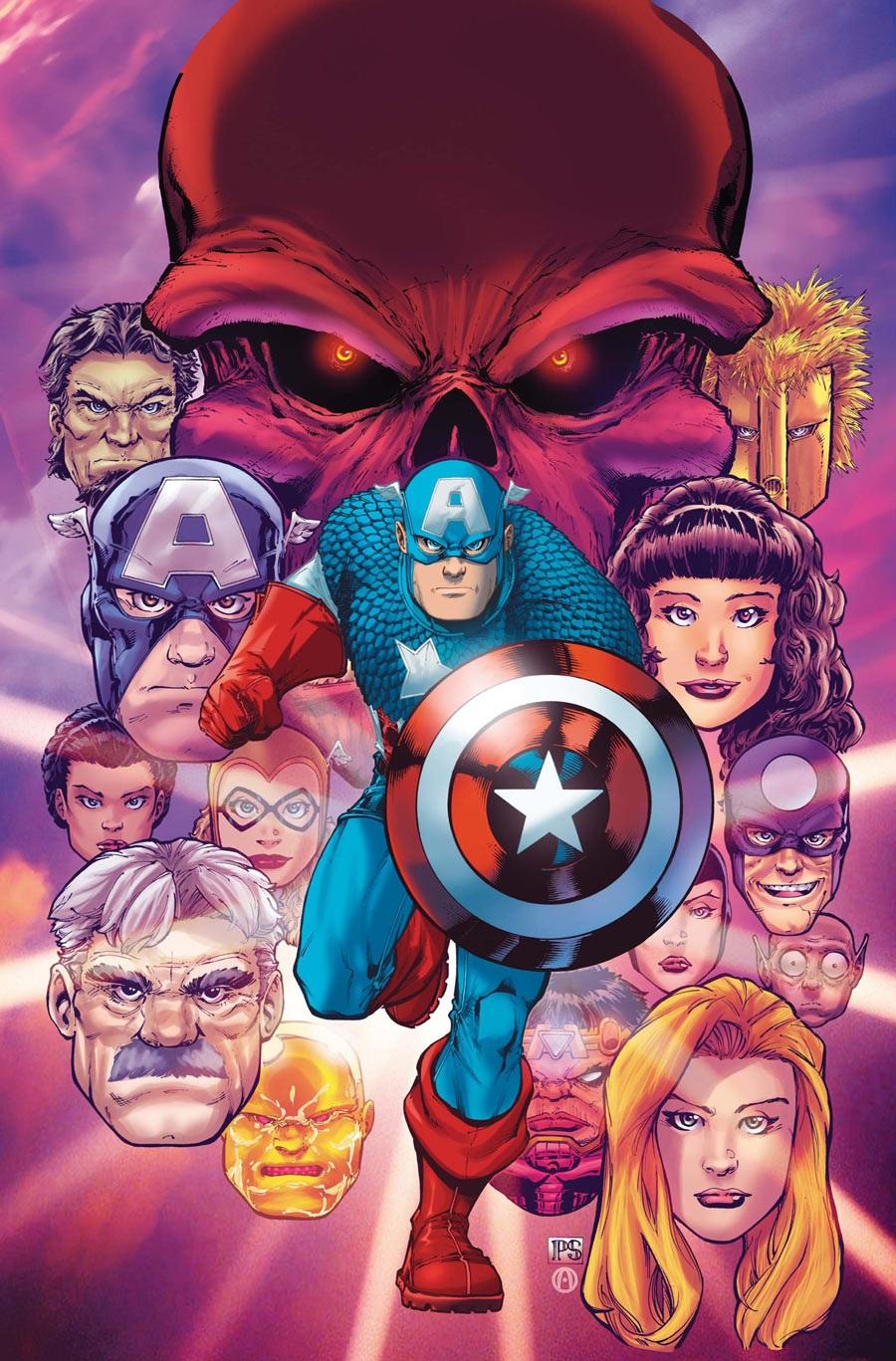 Captain America America's Avenger Vol 1 1 Textless.jpg