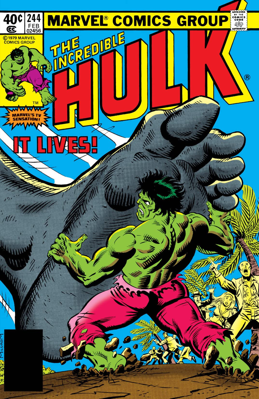 Incredible Hulk Vol 1 244