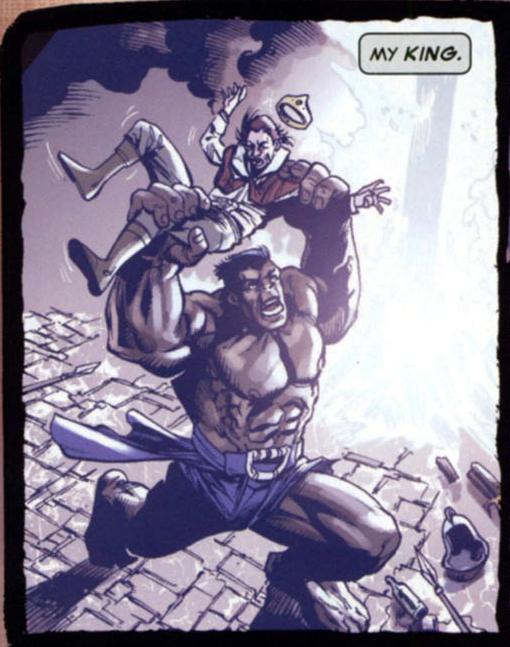 James Charles Stuart (Earth-311) and David Banner (Earth-311) from Hulk Broken Worlds Vol 1 2 001.png