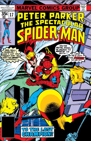 Peter Parker, The Spectacular Spider-Man Vol 1 17.jpg