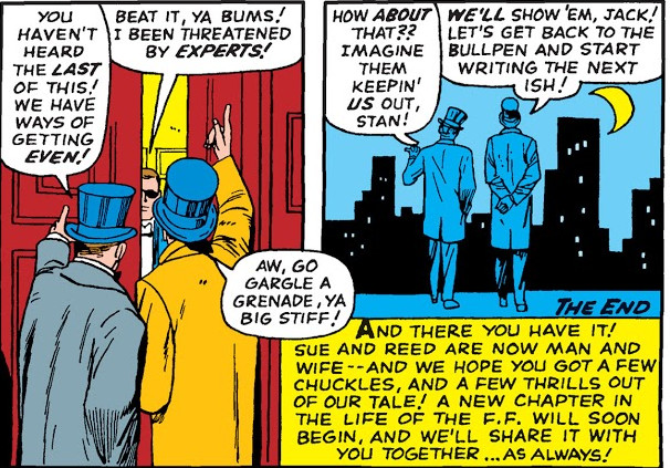 Stan Lee (Earth-616) and Jack Kirby (Earth-616) from Fantastic Four Annual Vol 1 3 001.jpg