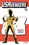 U.S.Avengers Vol 1 1 Oregon Variant