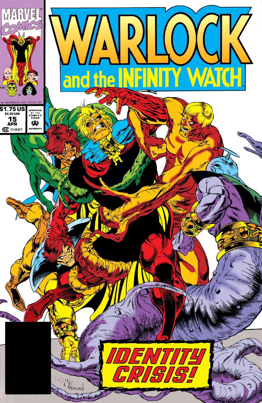 Warlock and the Infinity Watch Vol 1 15