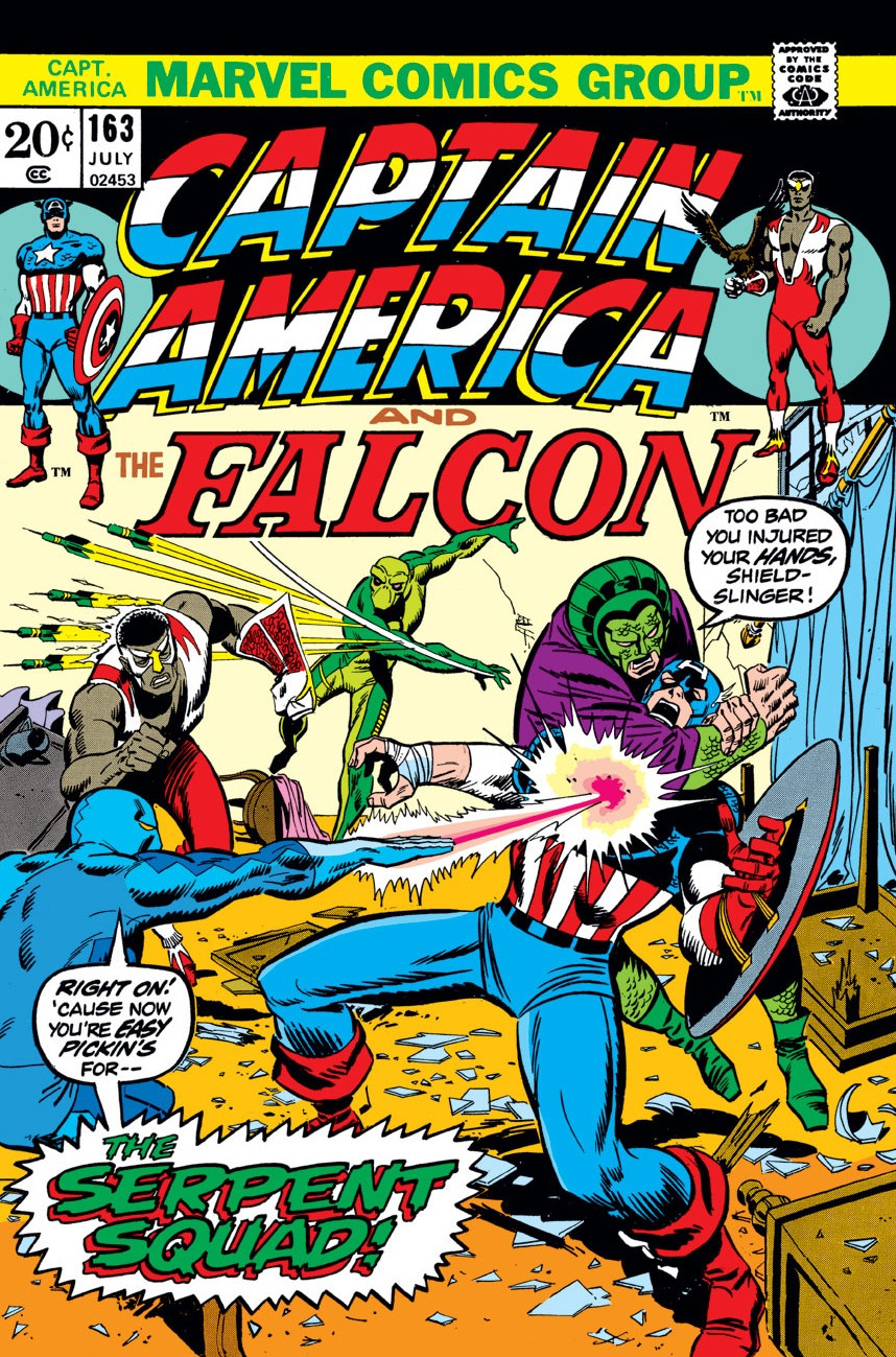 Captain America Vol 1 163