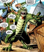 Curt Connors (King Lizard) (Earth-9602)