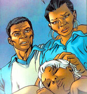 David Munroe (Earth-616), N'Daré (Earth-616) and Ororo Munroe (Earth-616) from Storm Vol 2 1 0001