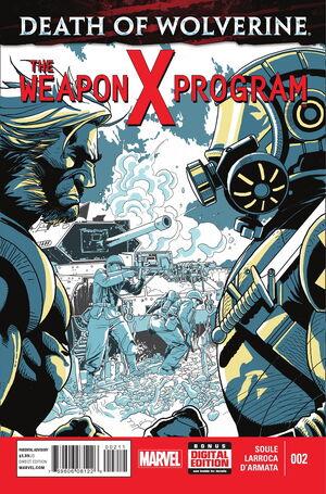 Death of Wolverine The Weapon X Program Vol 1 2.jpg