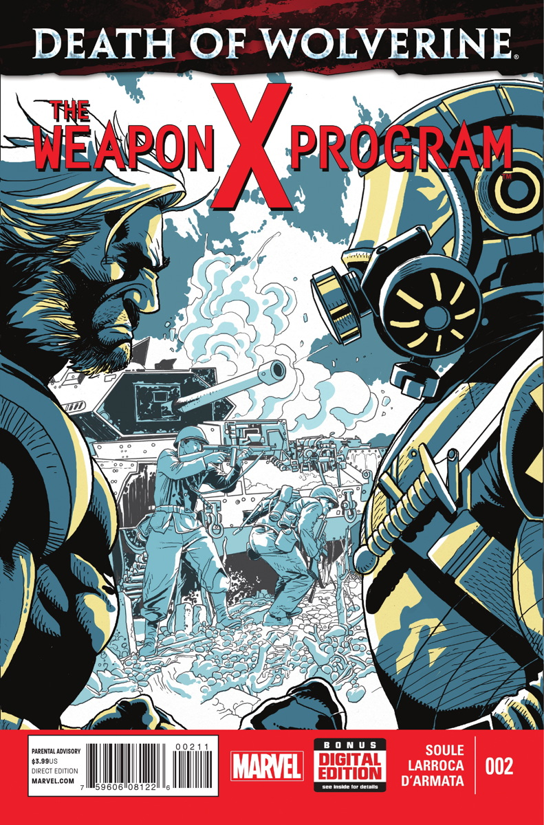 Death of Wolverine: The Weapon X Program Vol 1 2