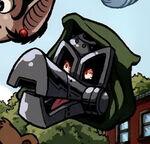 Ducktor Doom (Earth-25) from Spider-Ham 25th Anniversary Special Vol 1 1 0001.jpg