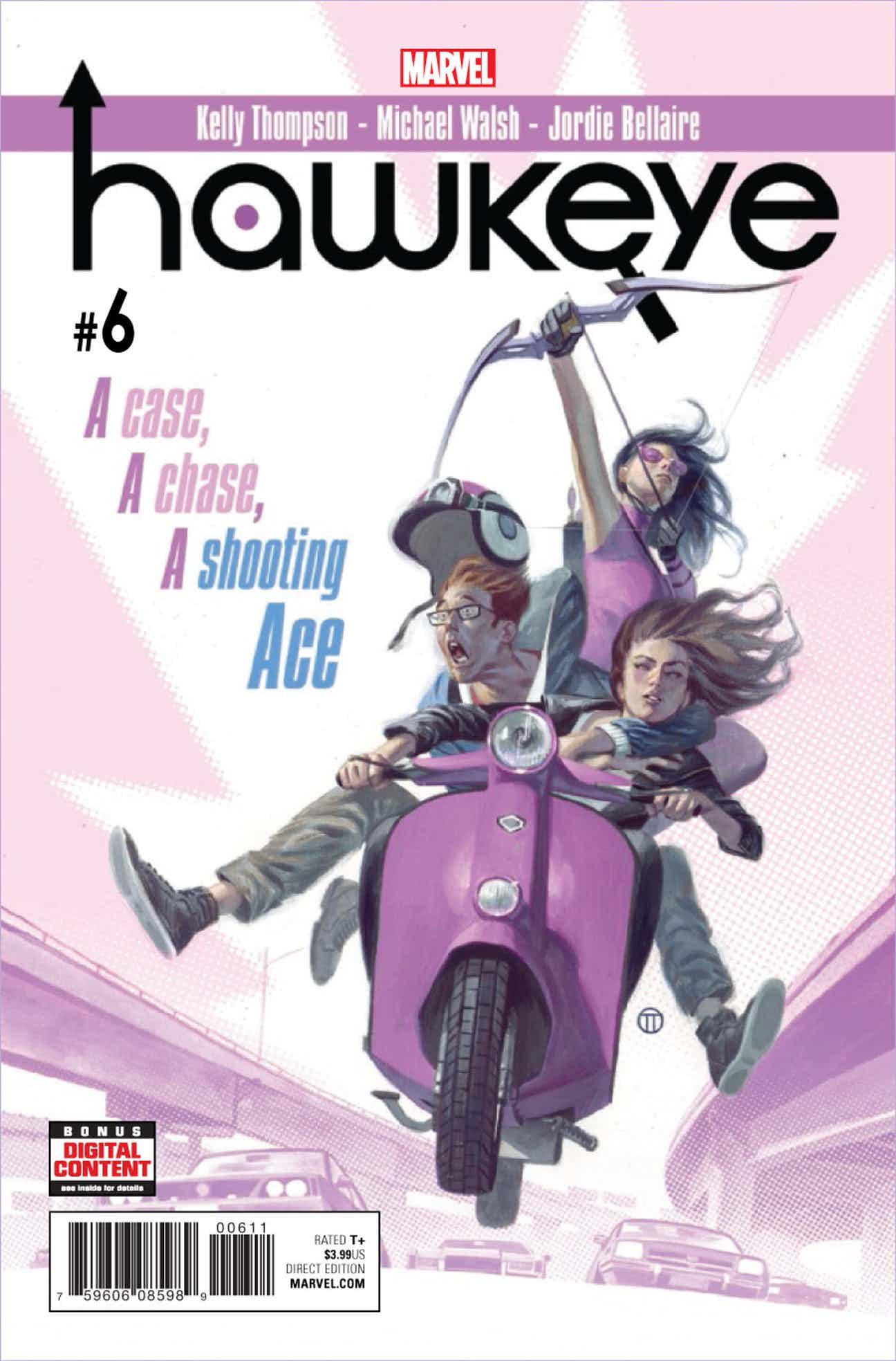 Hawkeye Vol 5 6