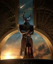 Heimdall (Earth-199999) from Thor The Dark World Poster 0001.jpg