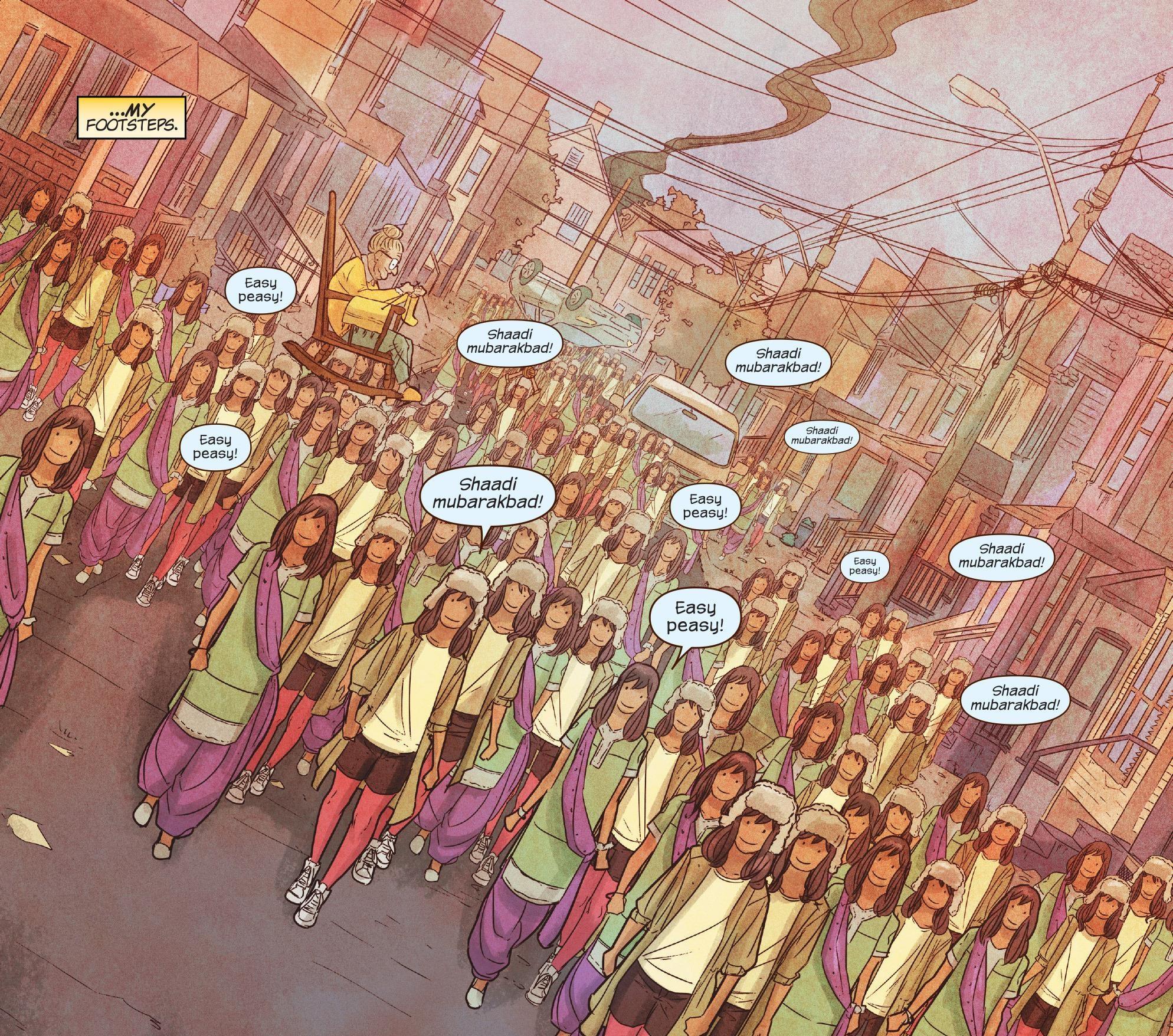 Kamala's Golems (Earth-616)