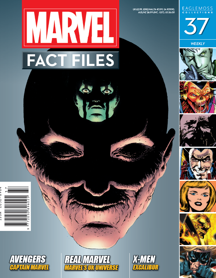 Marvel Fact Files Vol 1 37