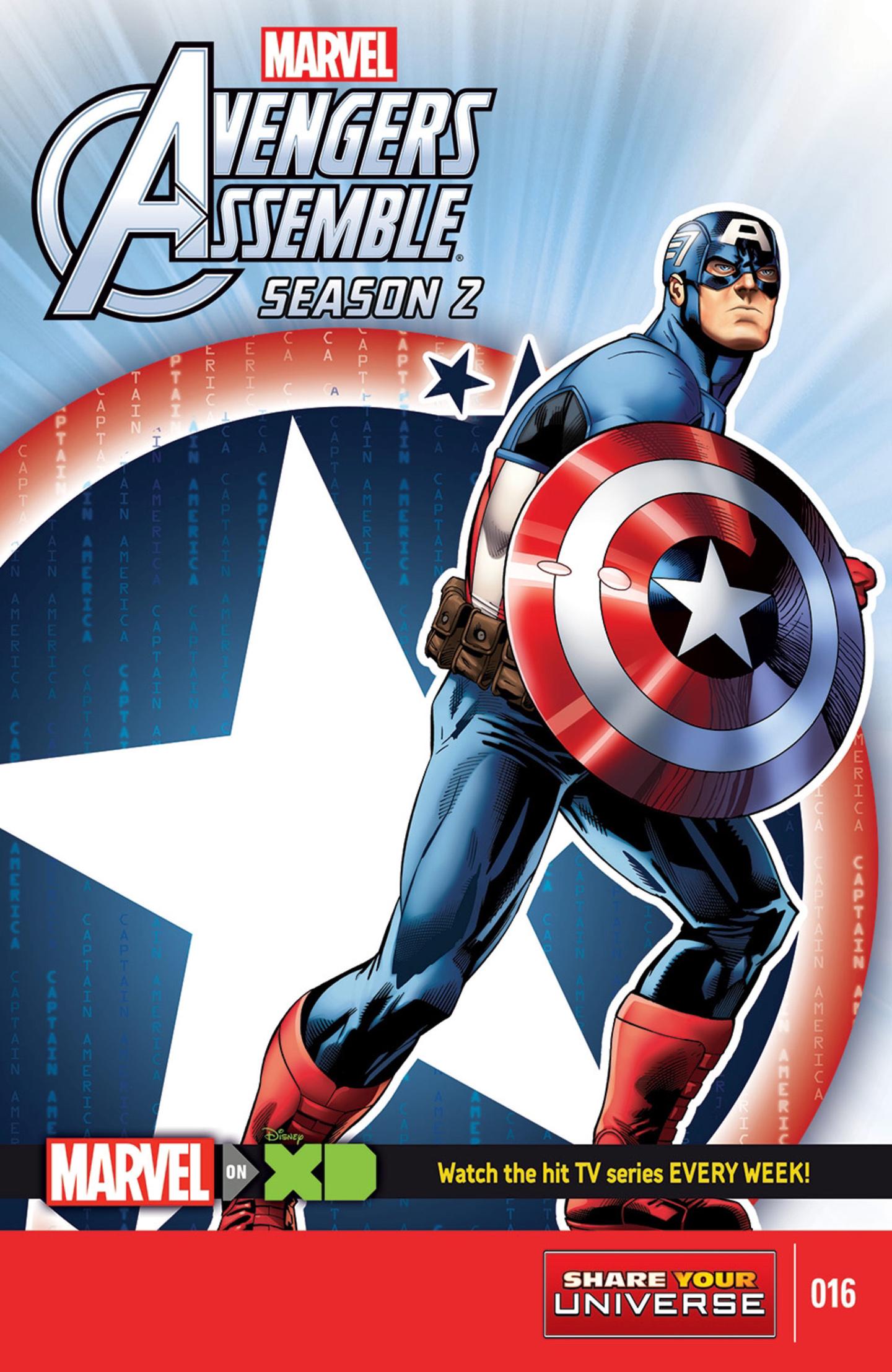 Marvel Universe Avengers Assemble Season Two Vol 1 16
