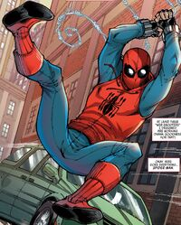 Peter Parker (Earth-199999) from Marvel's Spider-Man Homecoming Prelude Vol 1 1 001.jpg