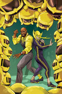 Power Man and Iron Fist Vol 3 7 Marvel Tsum Tsum Takeover Variant Textless