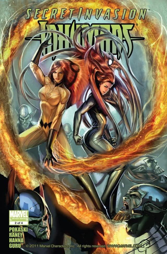 Secret Invasion: Inhumans Vol 1 2