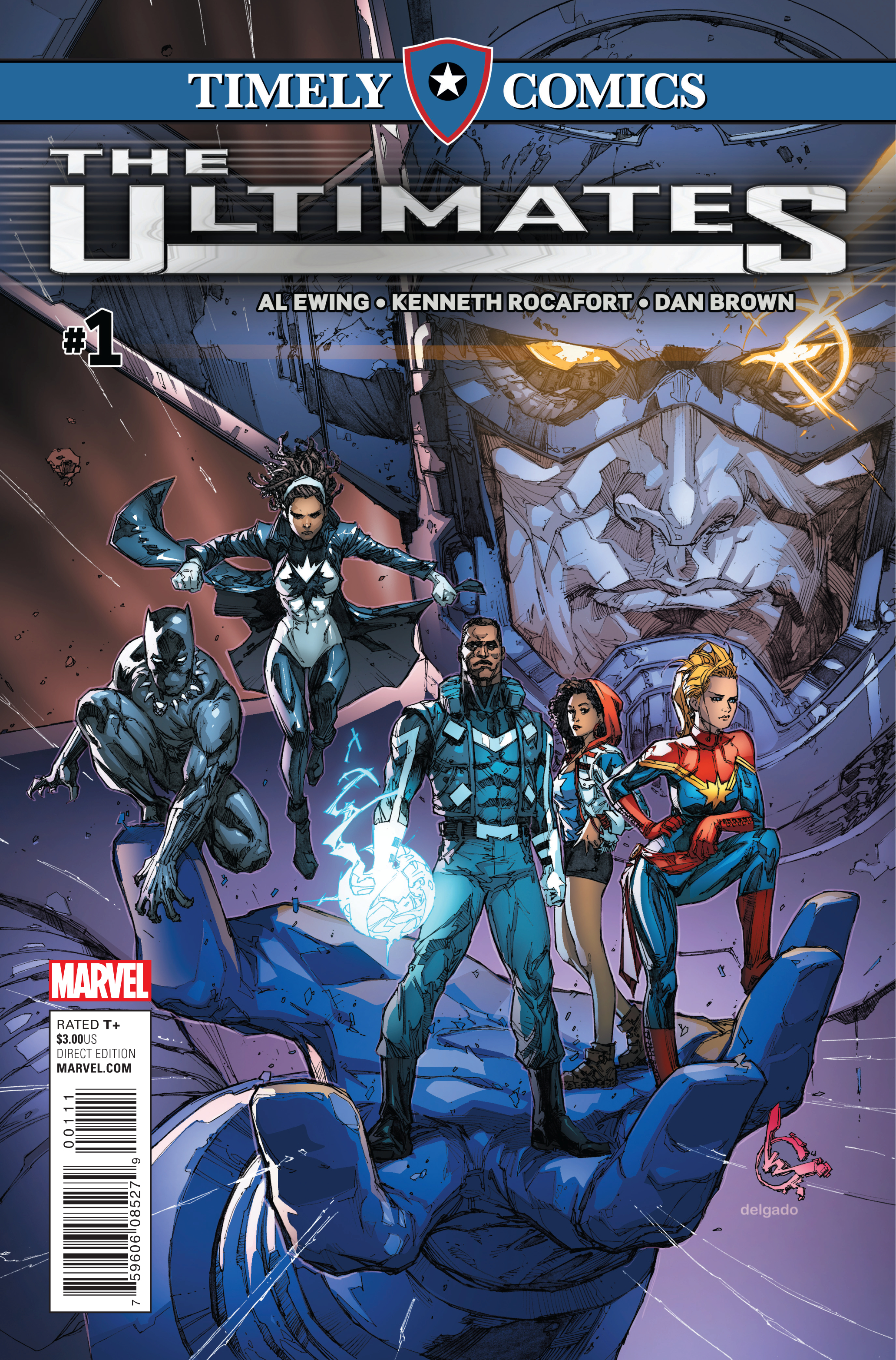 Timely Comics: Ultimates Vol 1 1