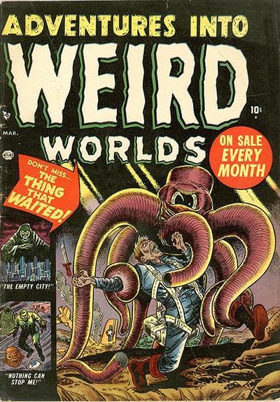 Adventures into Weird Worlds Vol 1 3