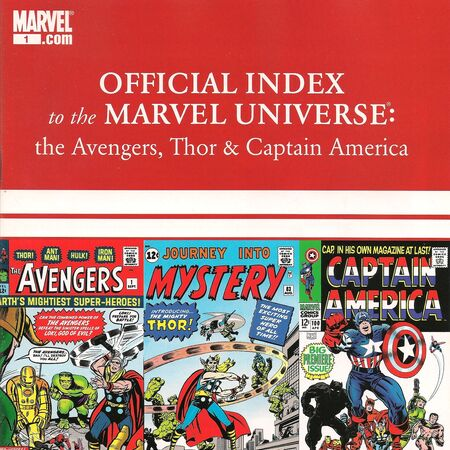 Avengers, Thor & Captain America Official Index to the Marvel Universe Vol 1 1.jpg