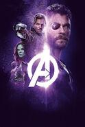 Avengers Infinity War poster 007 Textless