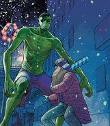 Bruce Banner (Earth-616) from King in Black Immortal Hulk Vol 1 1 001