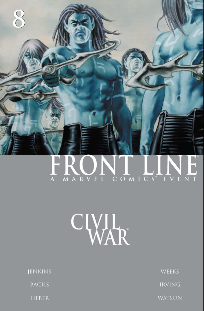 Civil War: Front Line Vol 1 8
