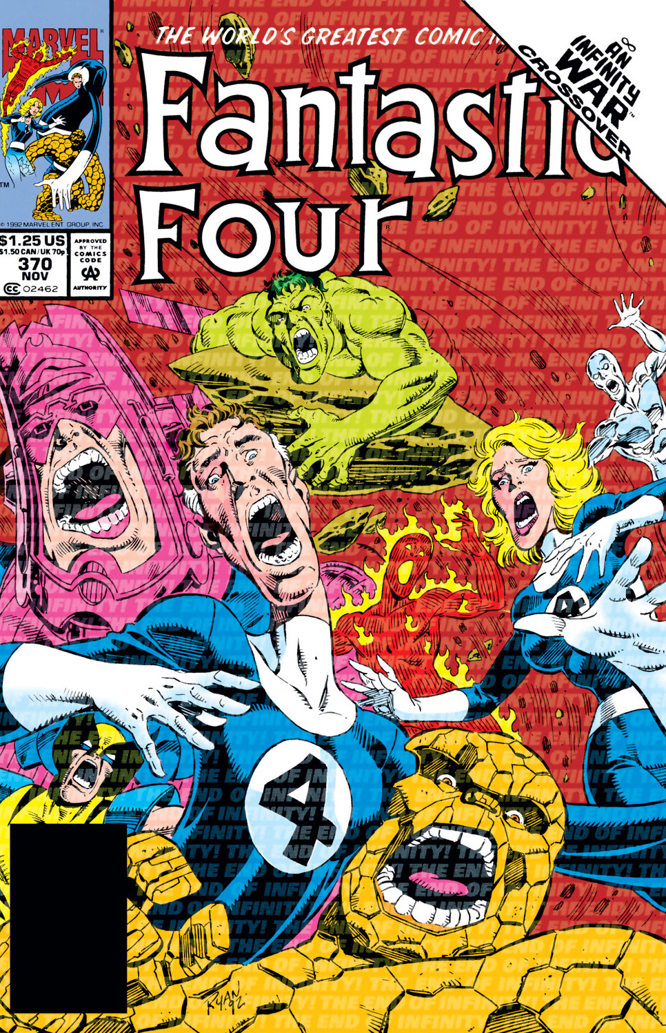 Fantastic Four Vol 1 370