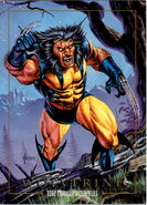 James Howlett (Earth-616) from Marvel Masterpieces Trading Cards 1992 0001