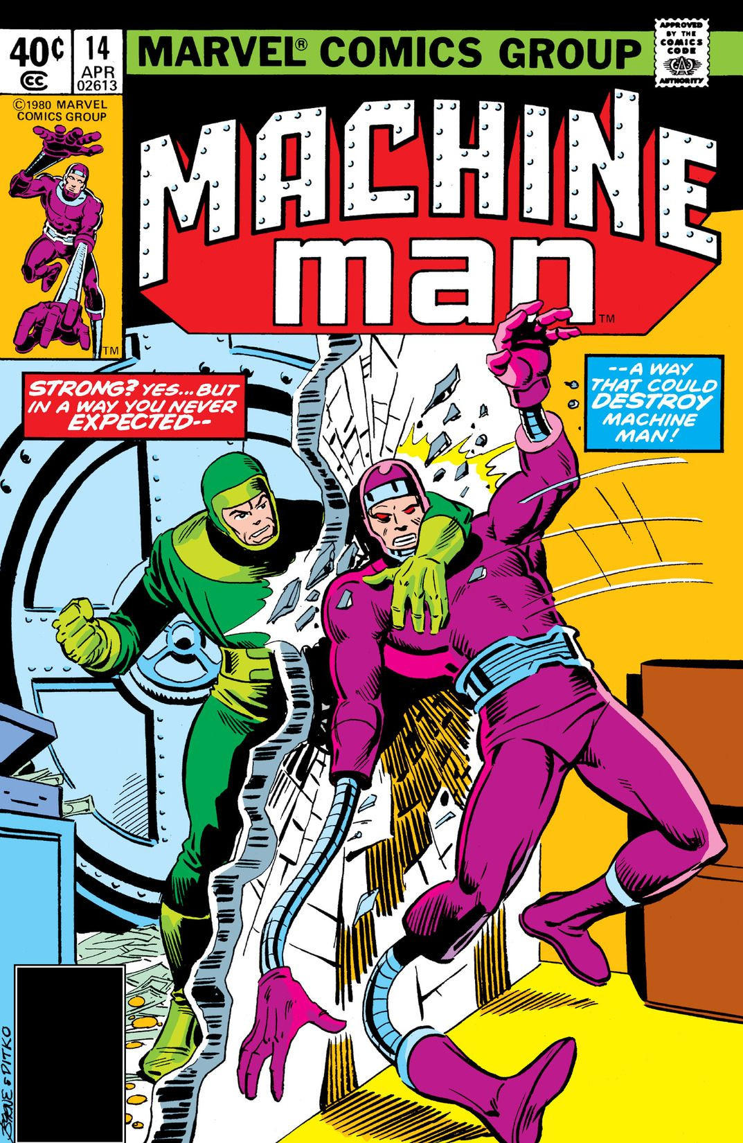 Machine Man Vol 1 14